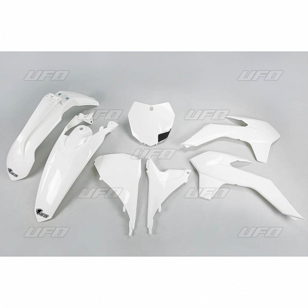 Kit plastique UFO KTM 125 SX 13-15 blanc