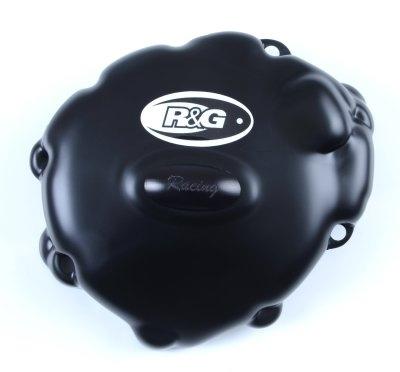 Couvre carter gauche R&G Racing noir Race Serie Honda CBR 1000 RR 08-1