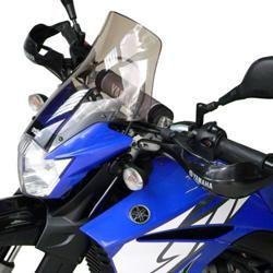 Saute-vent Bullster haute protection 35,5 cm fumé noir Yamaha XT 660 X