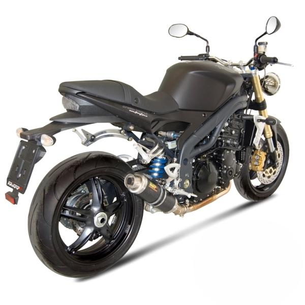 Silencieux MIVV GP carbone Triumph Speed Triple 1050 07-10