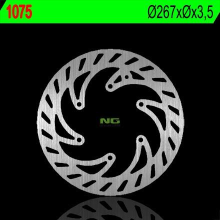 Disque de frein NG Brake Disc D.267 avant fixe cpi 50sm, sx 05-07