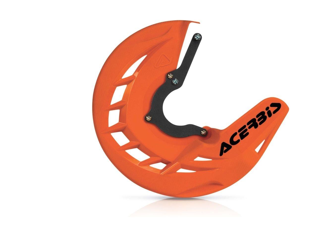 Protège disque de frein avant Acerbis X-BRAKE KTM DUKE 125 orange