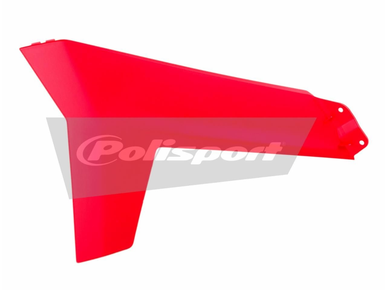 Ouïes de radiateur inférieures Polisport Gas Gas 300 EC 12-15 rouge