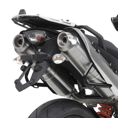 Support top case Givi alu KTM 990 SMT 09-14