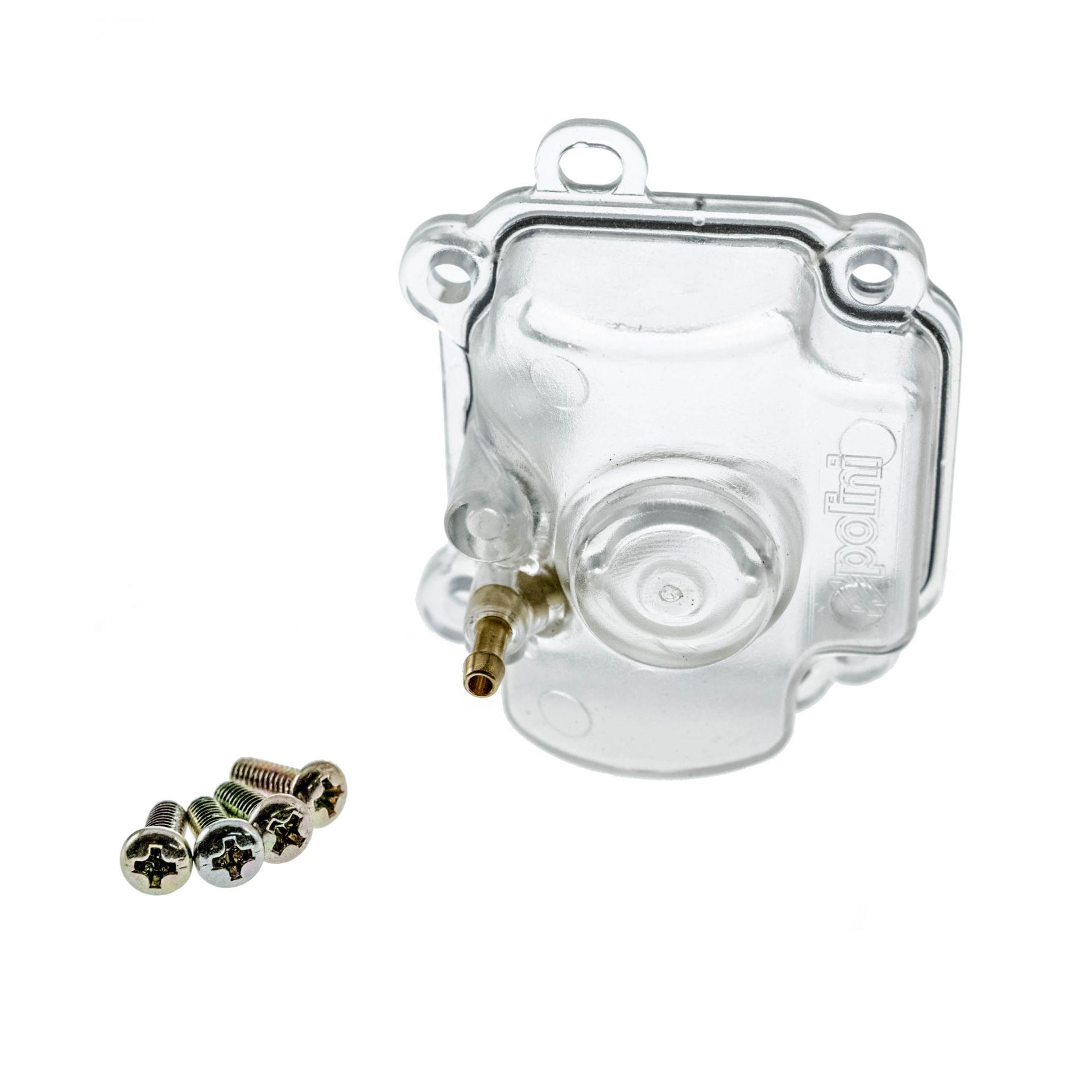 Cuve de carburateur CP Polini transparente