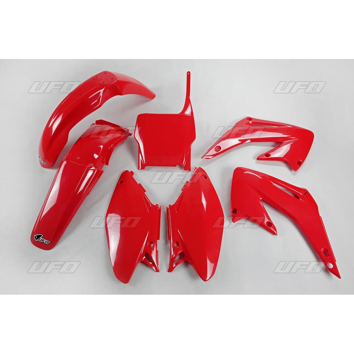 Kit plastique UFO Honda CR 125R 05-07 (rouge CR/CRF 00-18)