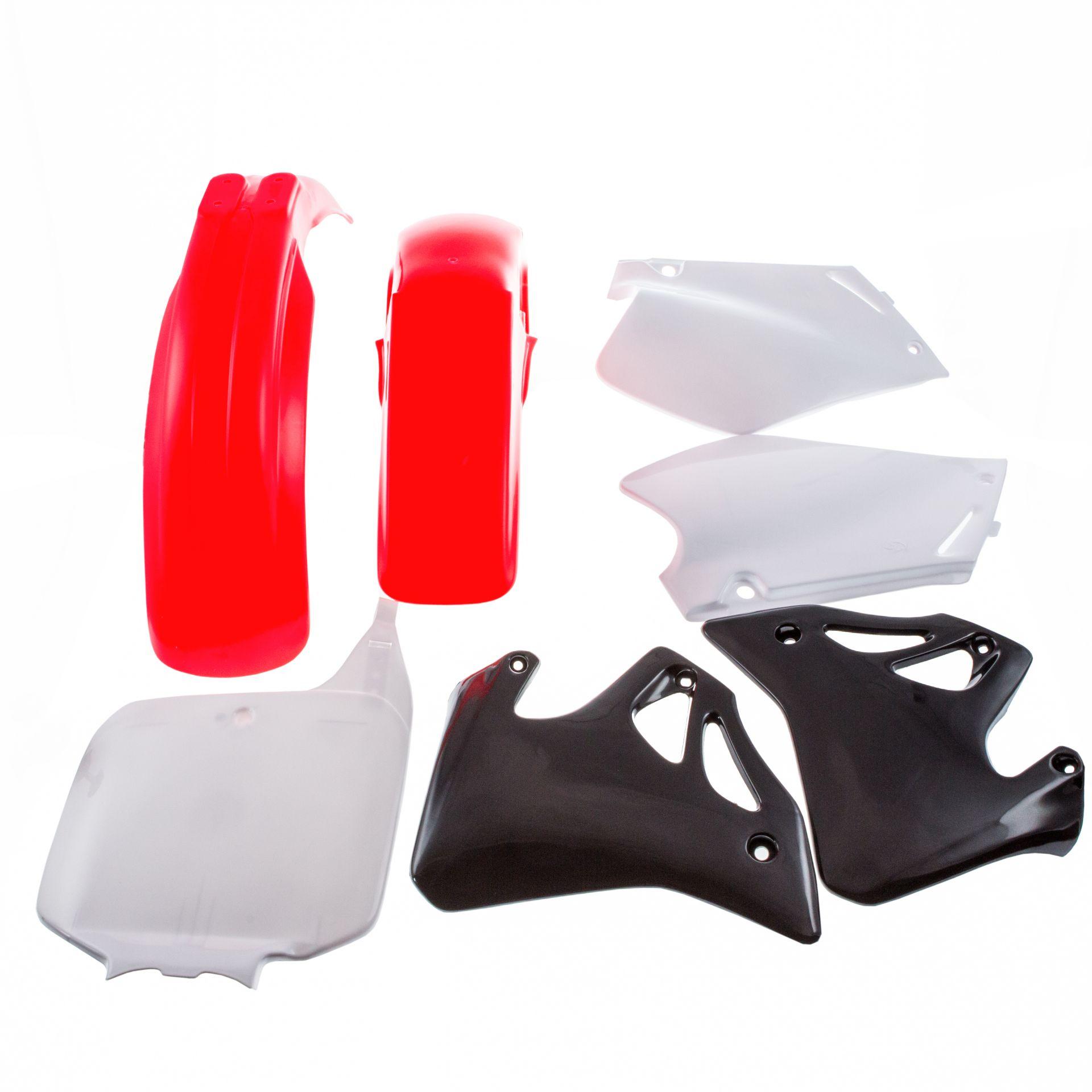 Kit plastique Polisport Honda CR 125R 95-97 (rouge/blanc origine)