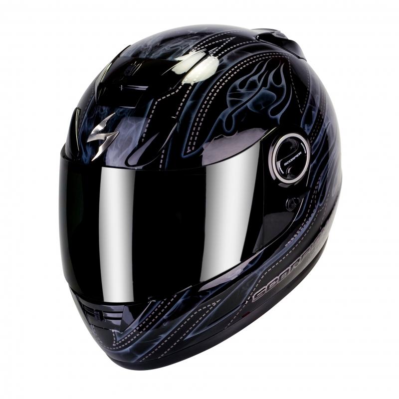 Casque intégral Scorpion EXO-750 AIR SMOKY Noir Gris - XL