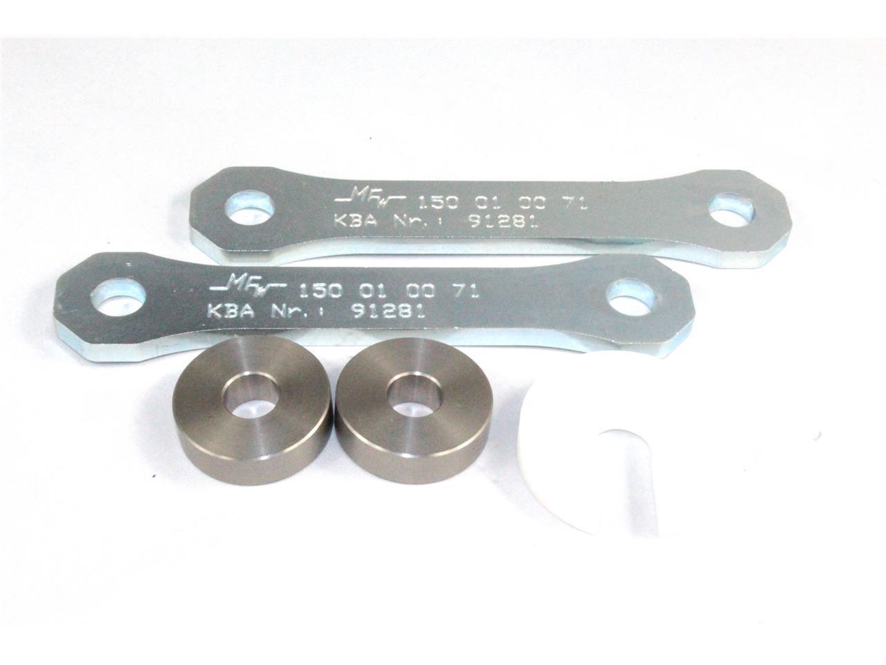 Kit rabaissement de selle -30 mm Tecnium pour Suzuki GSR 750 11-16