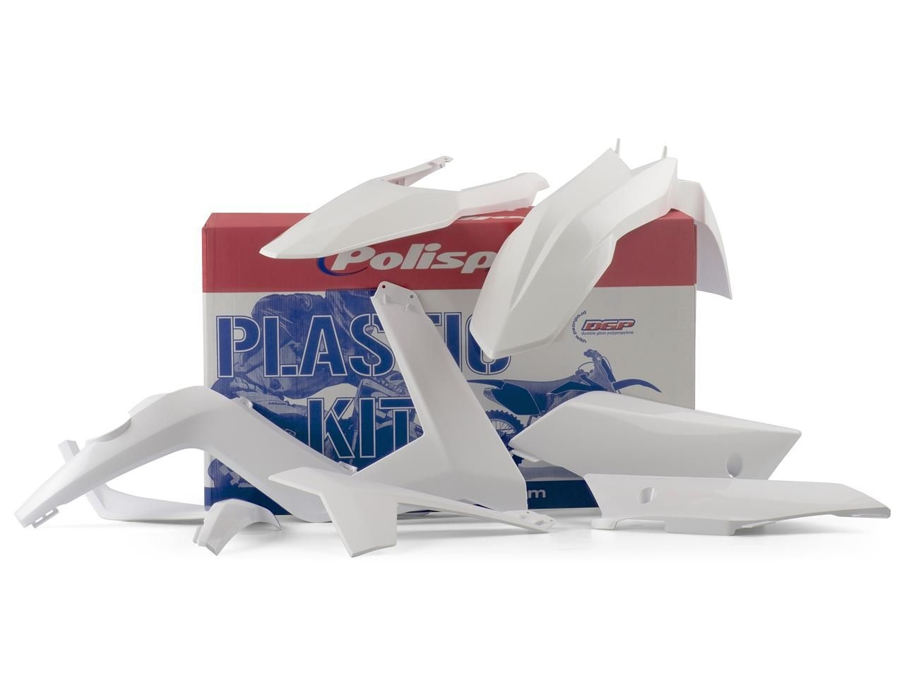 Kit plastique Polisport Gas Gas 250 EC 12-13 blanc