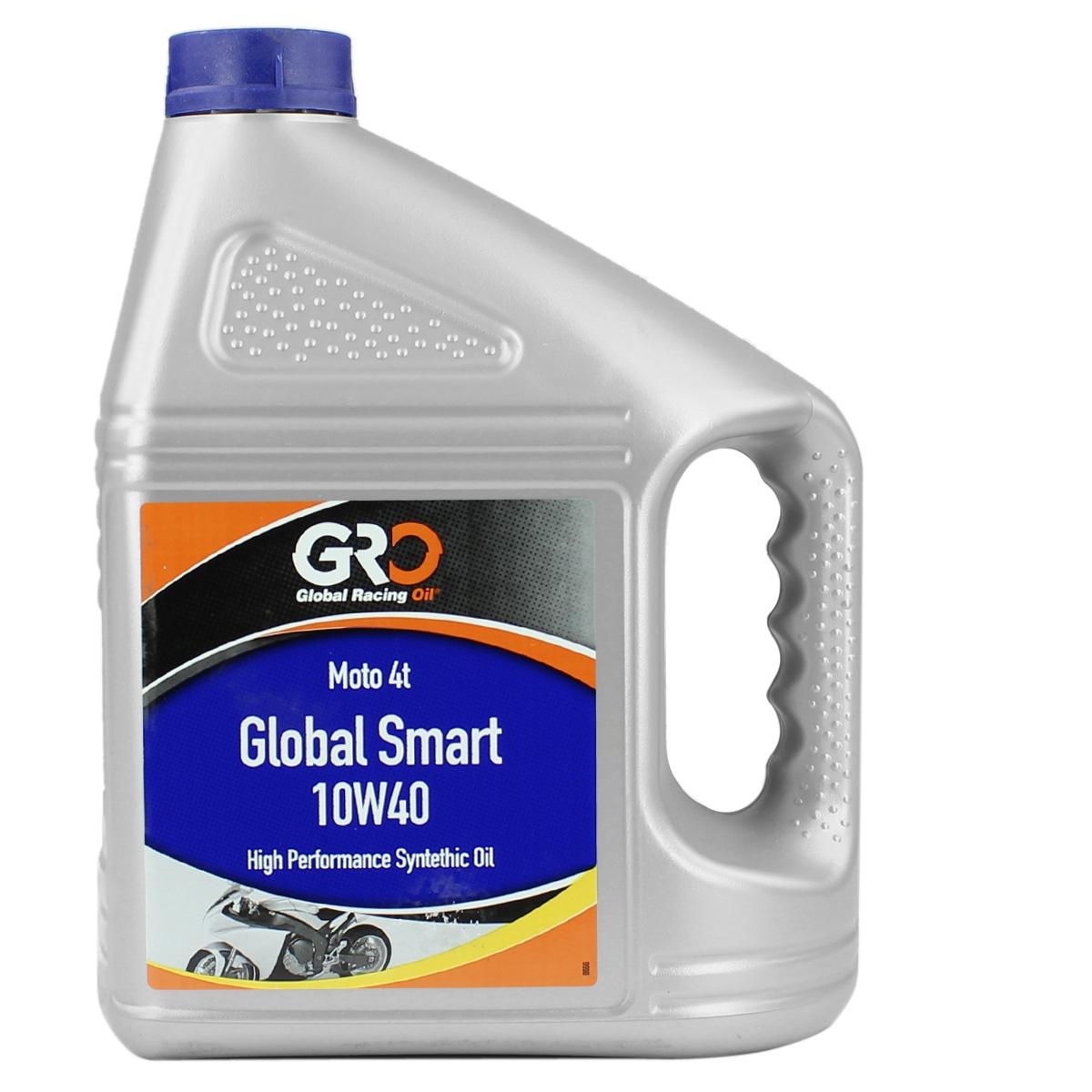 Huile GRO 4t smart 10w40 4L