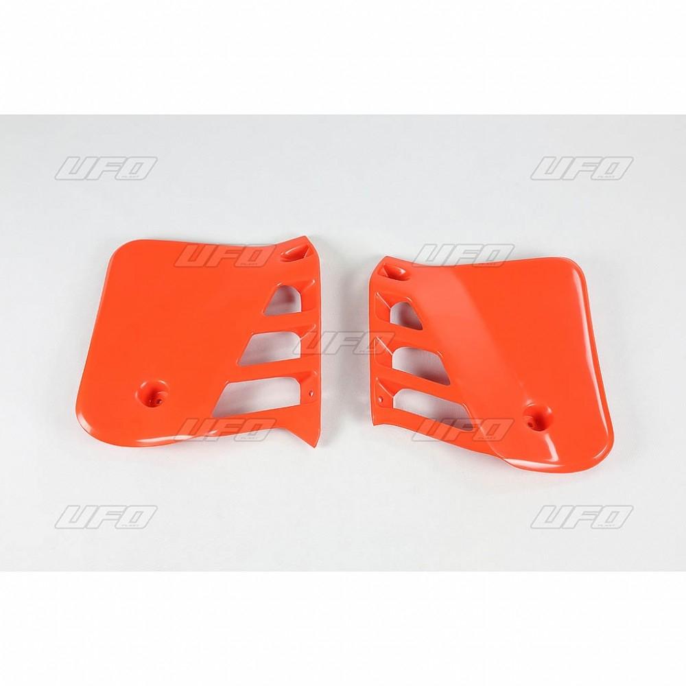 Ouïes de radiateur UFO Honda CR 250R 1987 orange (orange CR 1990)