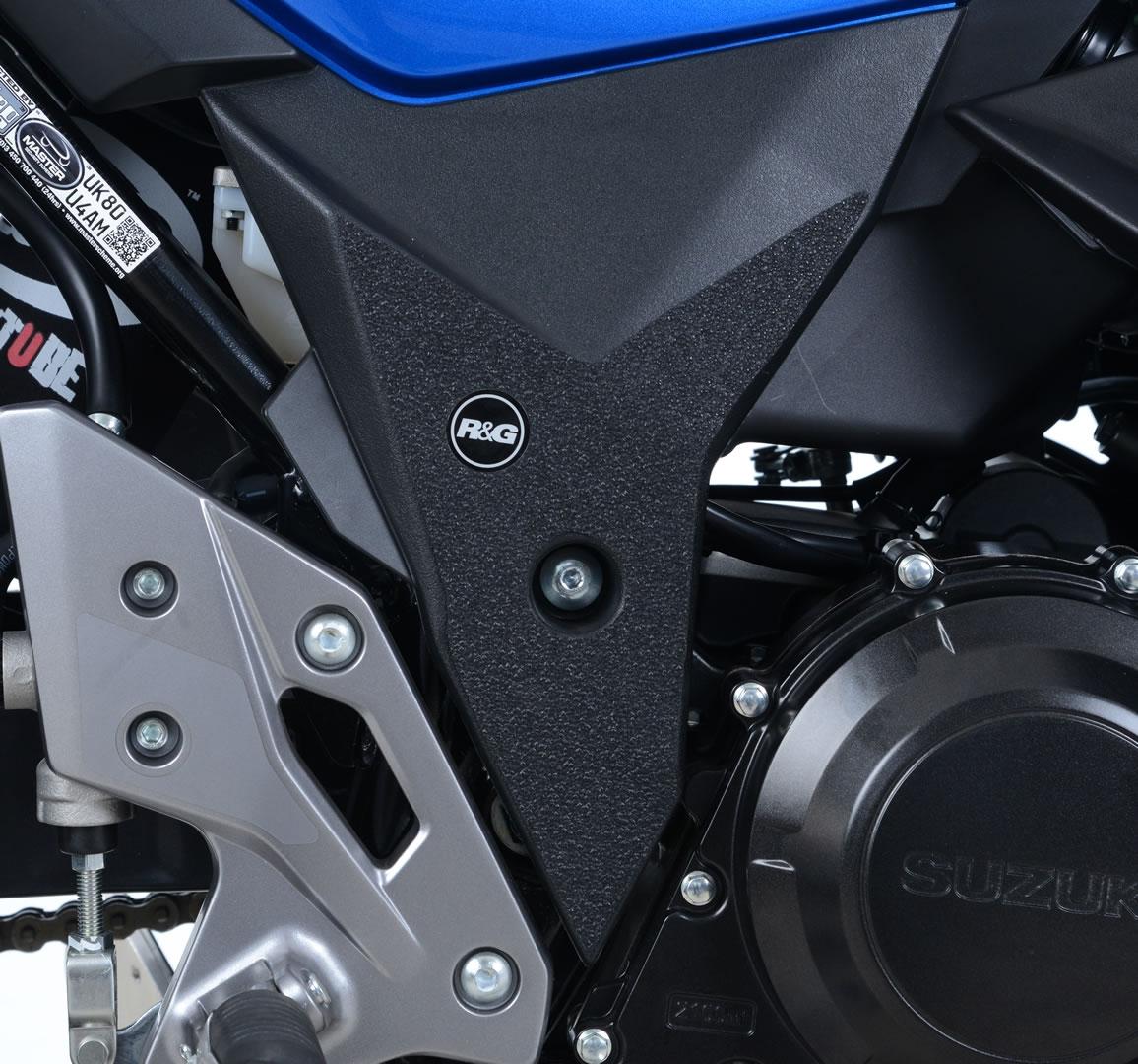 Adhésif anti-frottements R&G Racing noir cadre Suzuki GSX-R 250 17-18
