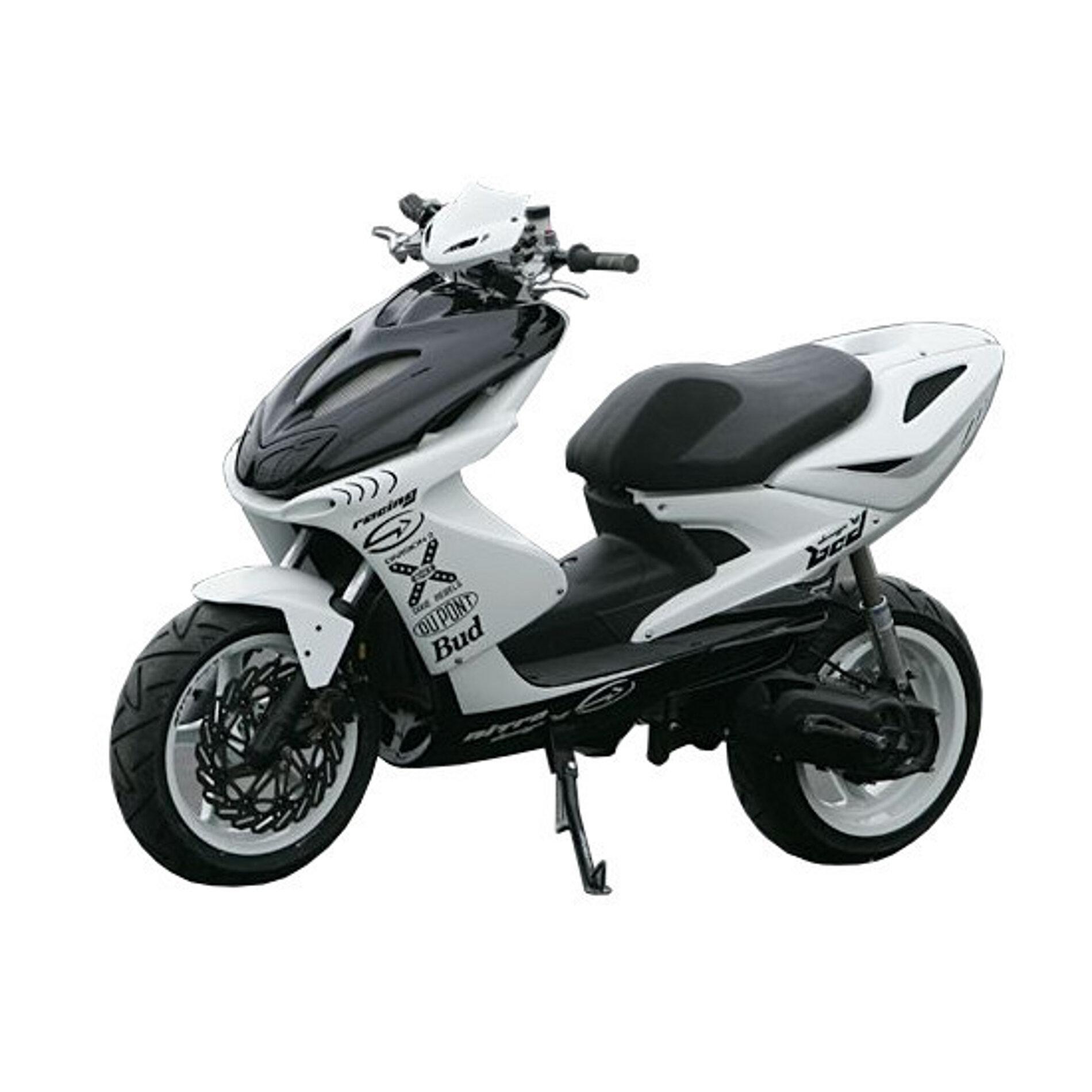 Kit habillage BCD MBK Nitro / Yamaha Aerox - Blanc