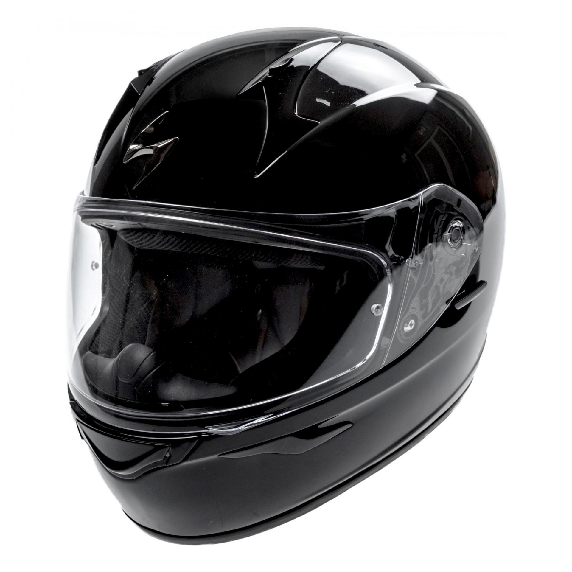 Casque intégral Scorpion EXO-390 noir - L