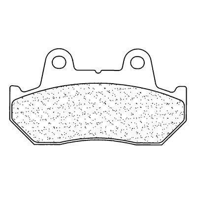 Plaquettes de frein Carbone Lorraine 3011MSC
