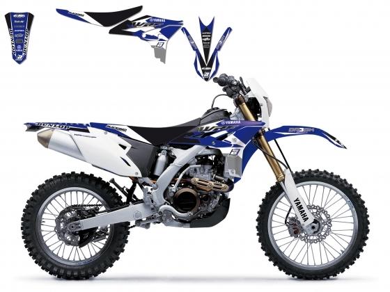 Kit déco + Housse de selle Blackbird Dream Graphic 3 Yamaha 450 WR-F 1