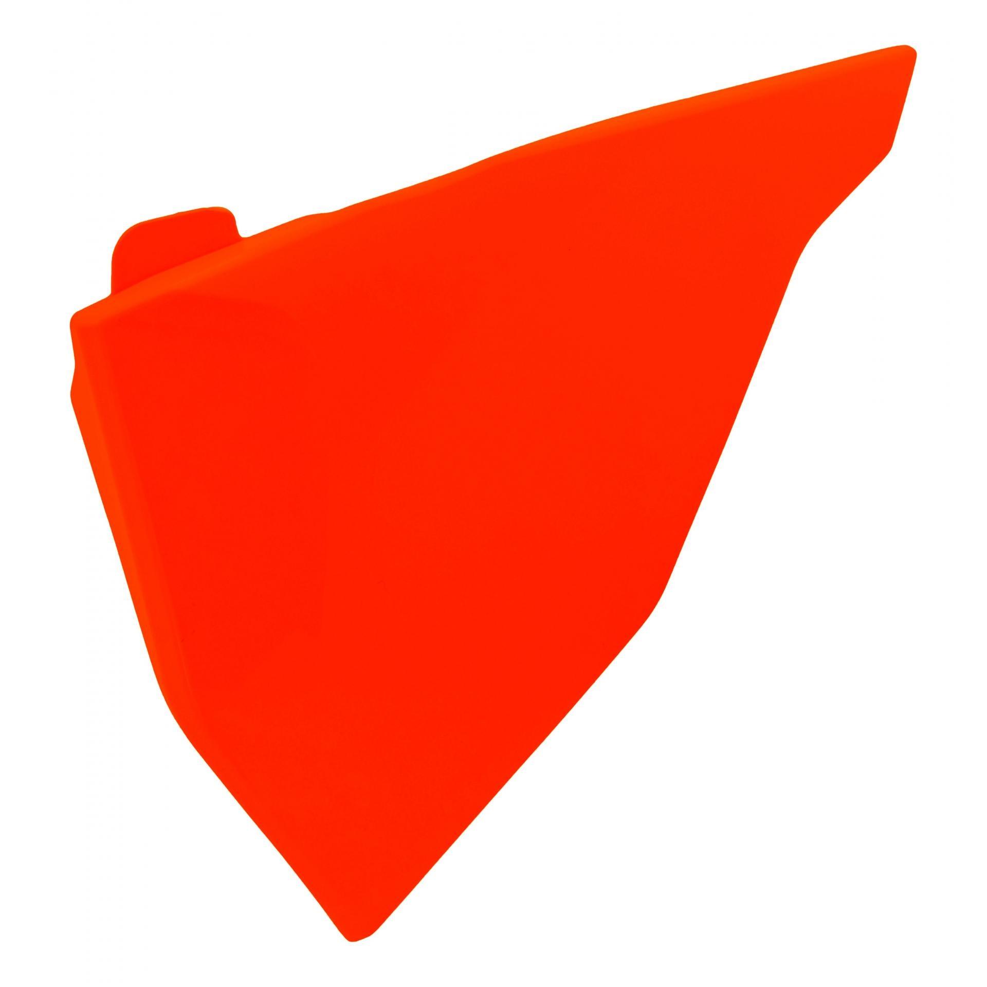 Cache de boîte à air Acerbis KTM 125 SX 2019 orange fluo