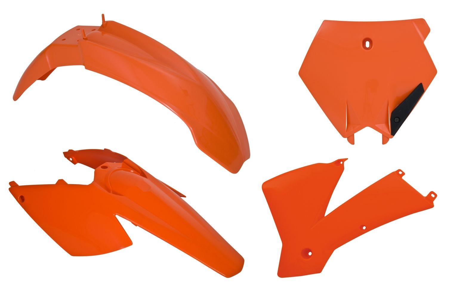 Kit plastique Racetech couleur dorigine pour KTM SX 125 2004