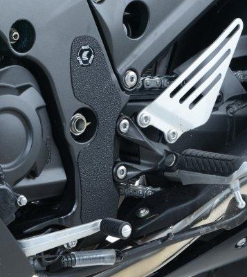 Adhésif anti-frottements R&G Racing noir cadre Kawasaki ZZR 1400 12-18