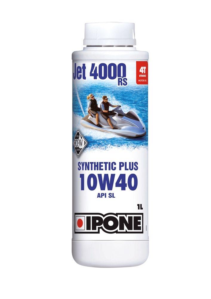 Huile moteur 4T Ipone Jet 4000 RS 10W40 1L