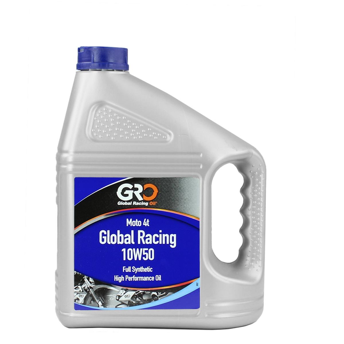 Huile GRO 4t racing 10w50 4L