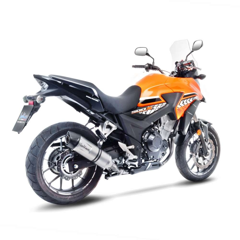 Silencieux Leovince LV One inox Honda CB 500 X 17-18