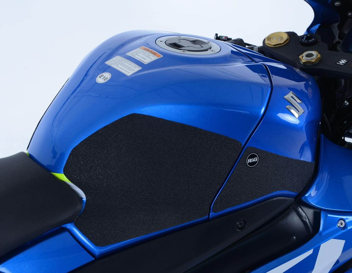 Kit grip de réservoir R&G Racing translucide Suzuki GSX-R 1000 17-18