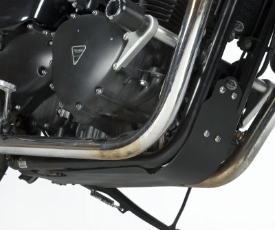 Sabot moteur R&G Racing noir Triumph Thruxton 900 06-14
