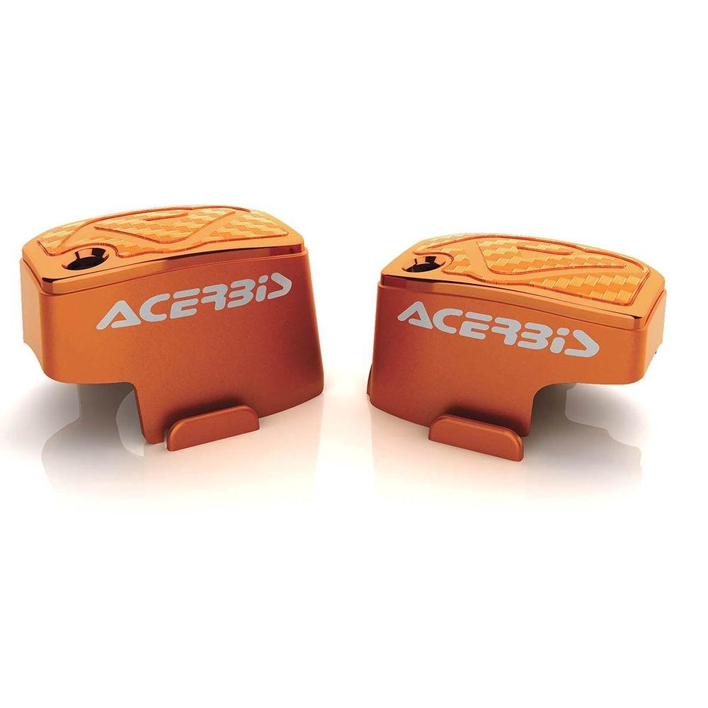 Couvre maître-cylindre Brembo Acerbis orange