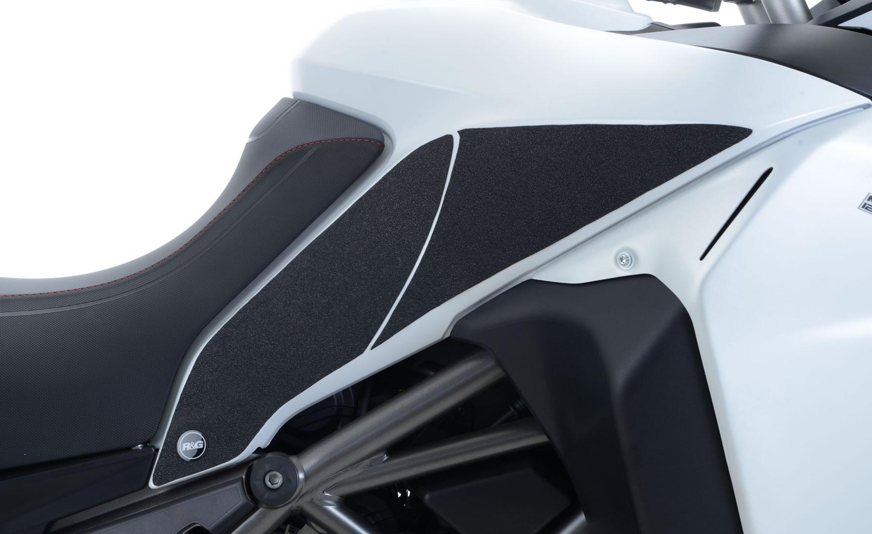 Kit grip de réservoir R&G Racing noir Ducati Multistrada 1200 Enduro 1