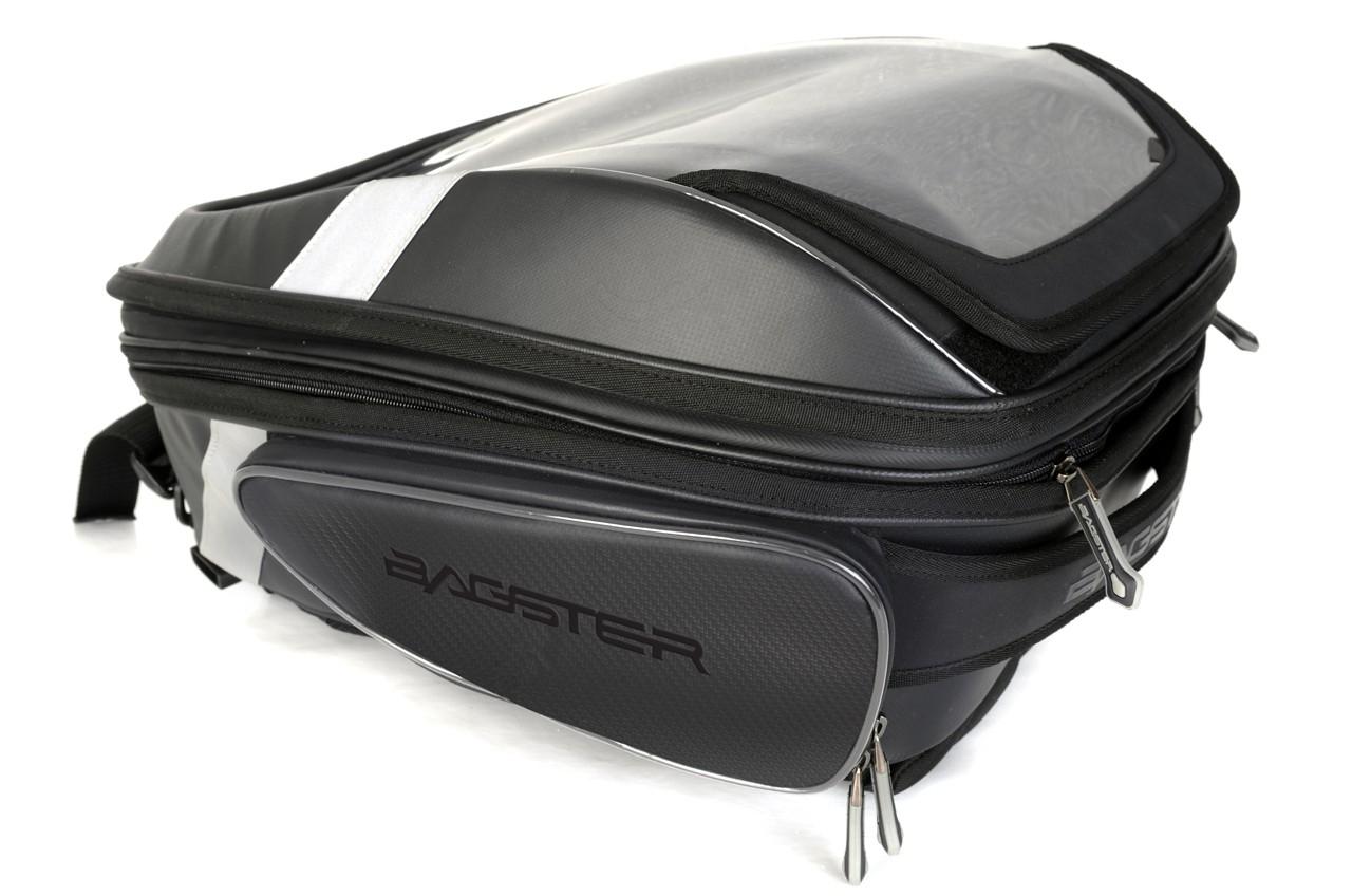 Sacoche de réservoir Bagster BLACK STUNT noir mat
