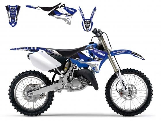 Kit déco + Housse de selle Blackbird Dream Graphic 3 Yamaha 250 YZ 02-