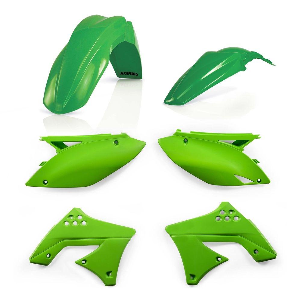 Kit plastique Acerbis Kawasaki 250 KX-F 09-12 vert