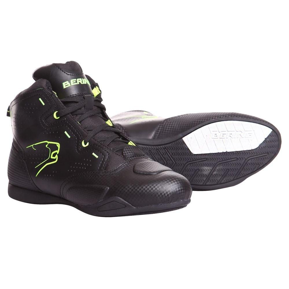 Baskets Bering JASPER Noir/Fluo - 41
