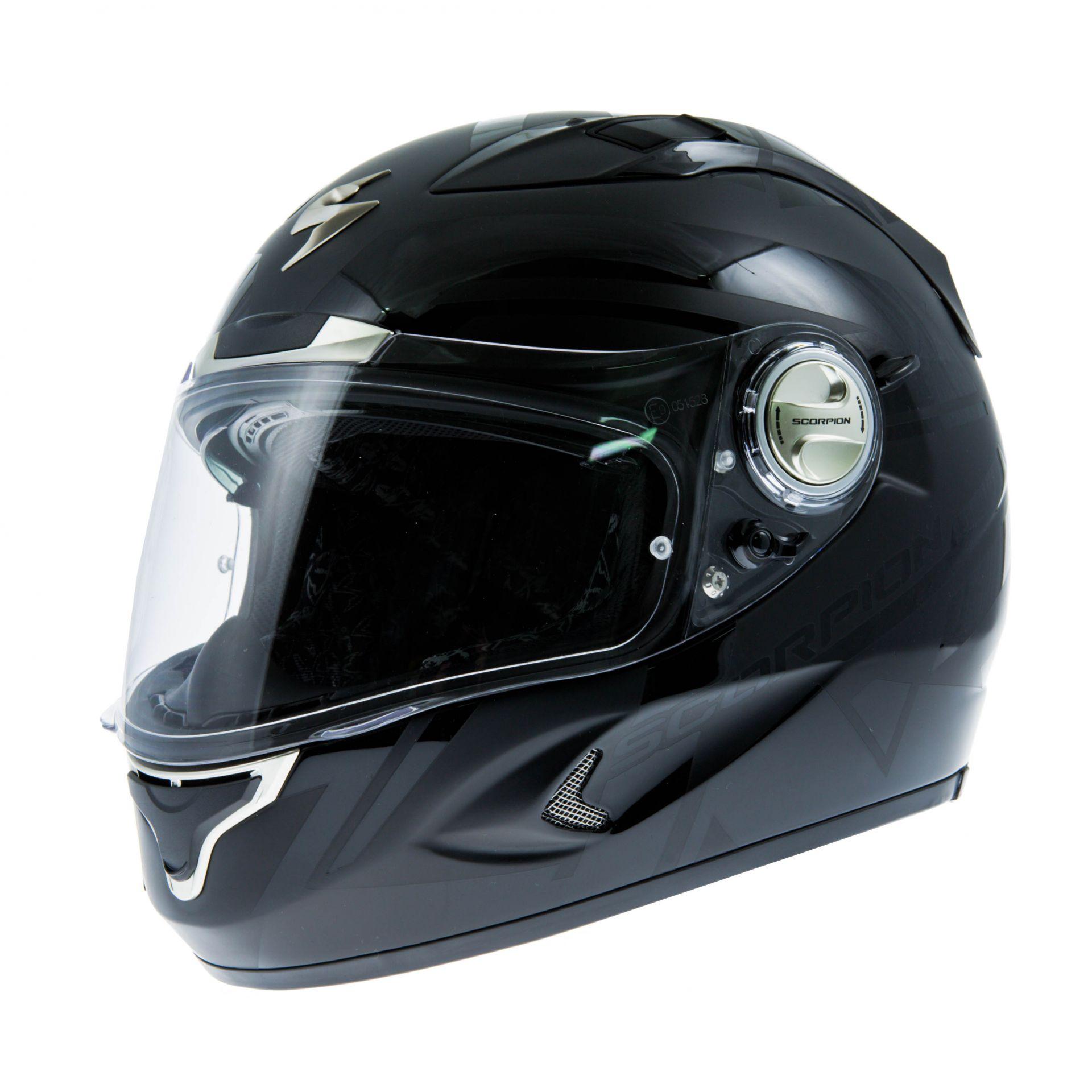 Casque intégral Scorpion EXO-1000 AIR RAFALE Noir Noir mat - XL