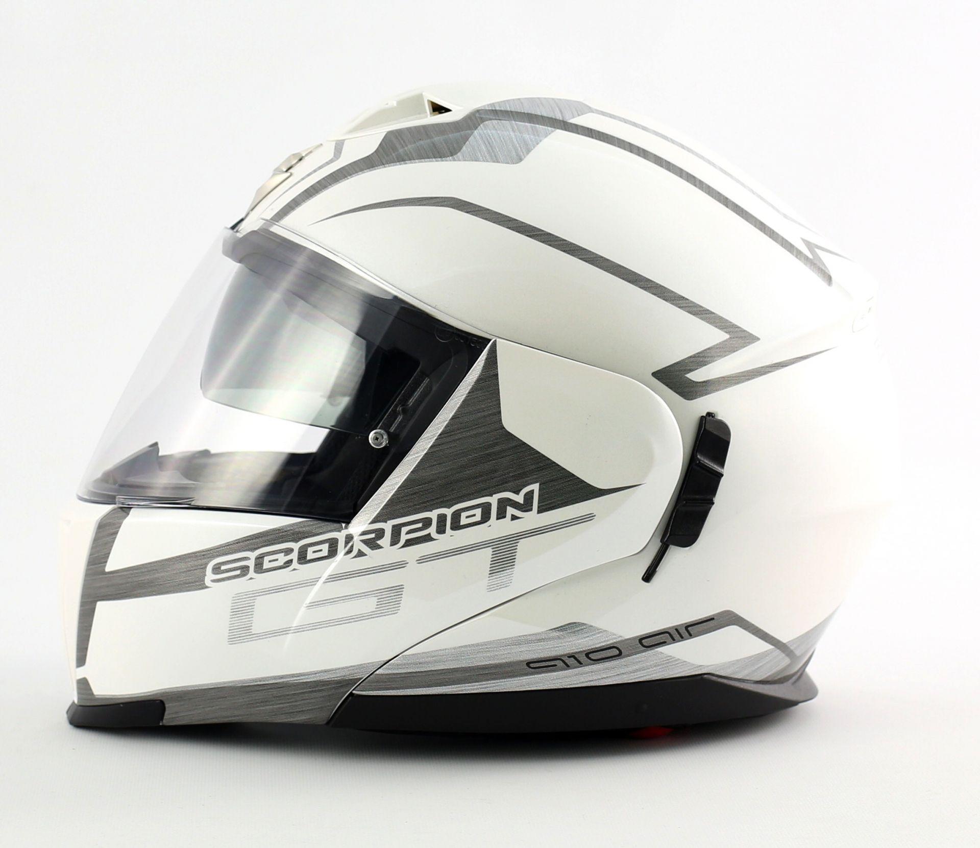 Casque modulable Scorpion EXO-910 AIR GT Blanc - XS