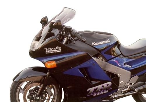 Bulle MRA Touring noire Kawasaki ZZR 1100 90-92