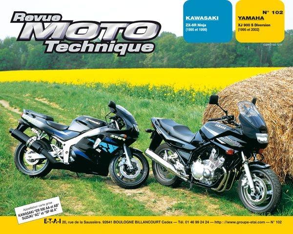Revue Moto Technique 102.3 Kawasaki ZX6R / Yamaha XJ 900 S