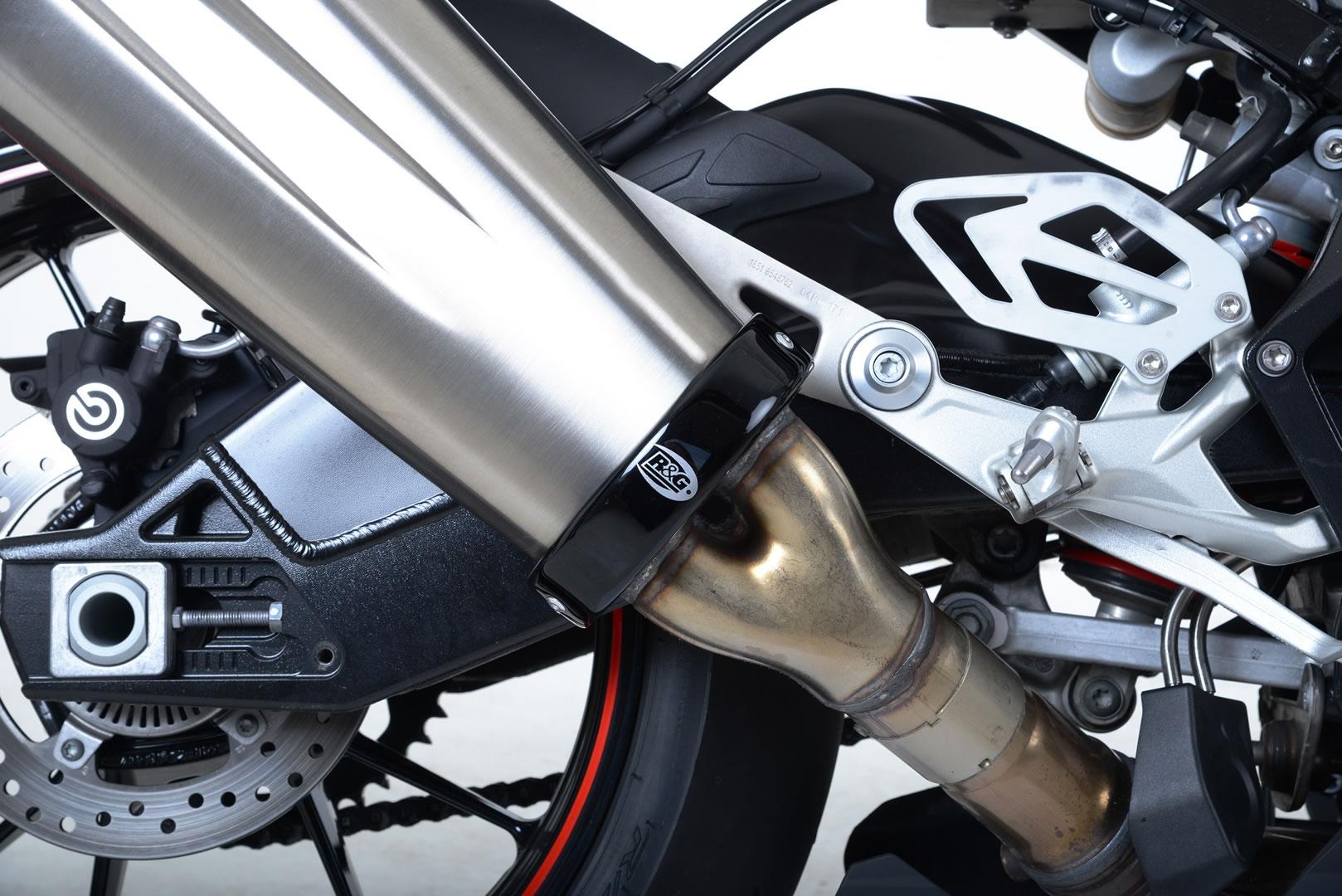 Protection de silencieux R&G Racing noir BMW S 1000 RR 15-18