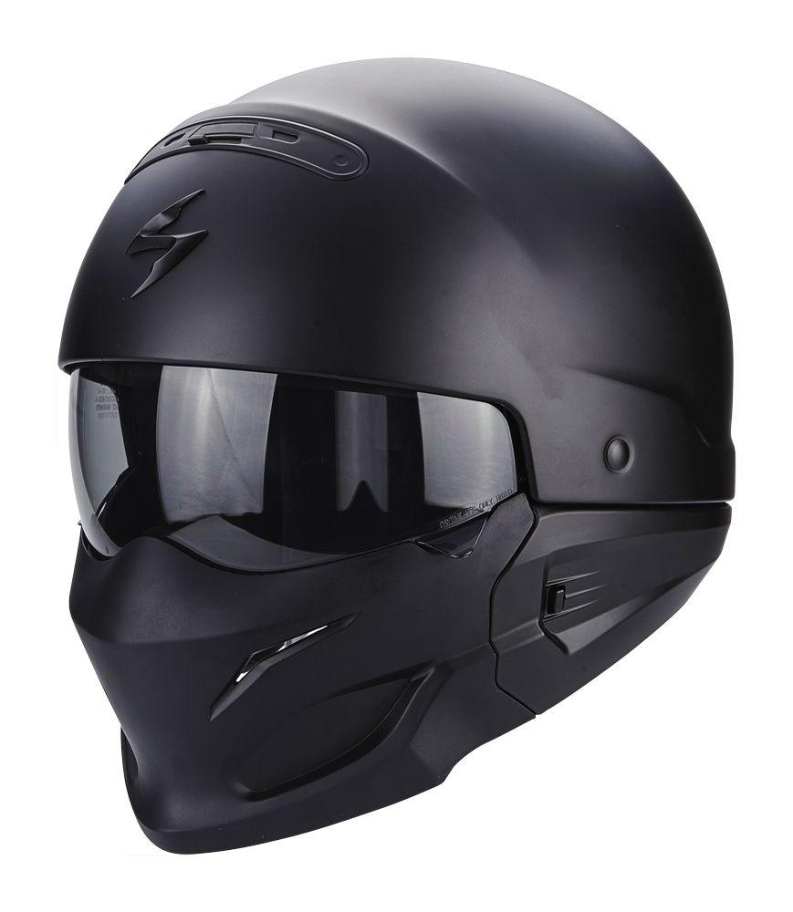Casque Scorpion EXO-COMBAT noir mat - XS
