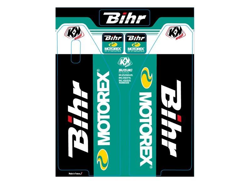 Kit de déco de fourche Kutvek Bihr/Motorex Suzuki RM 125-250