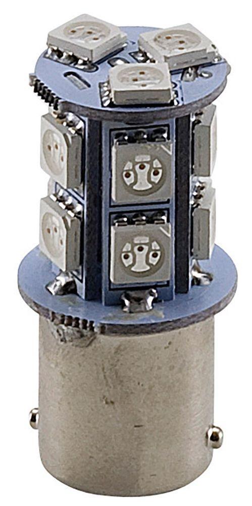 Ampoule C4 orange à LED type BA15S