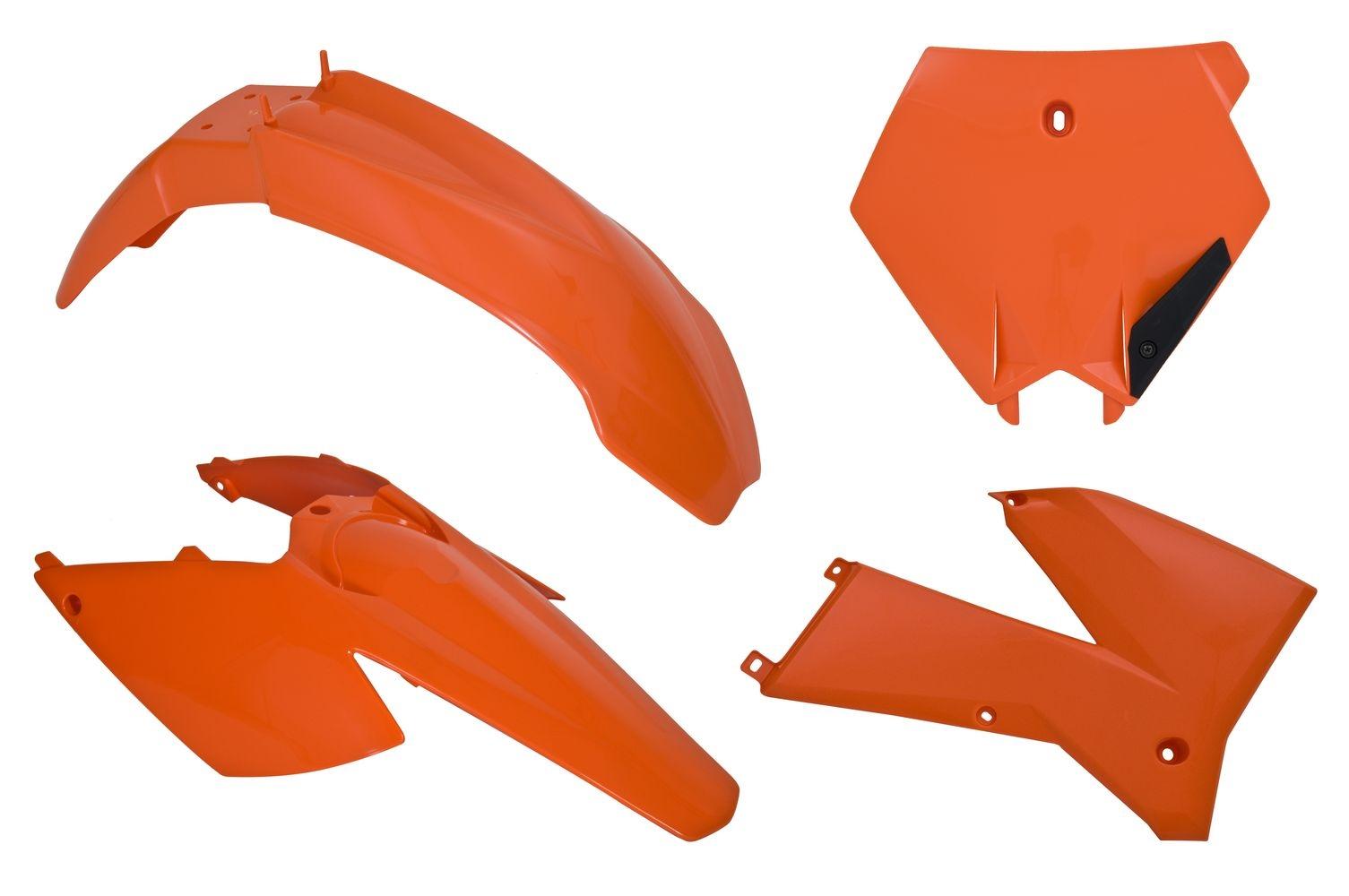 Kit plastique Racetech couleur dorigine pour KTM SX 125 05-06