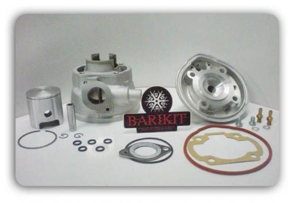 Cylindre Culasse D.40 Barikit Aluminium MBK Nitro/Yamaha Aerox LC 50cc