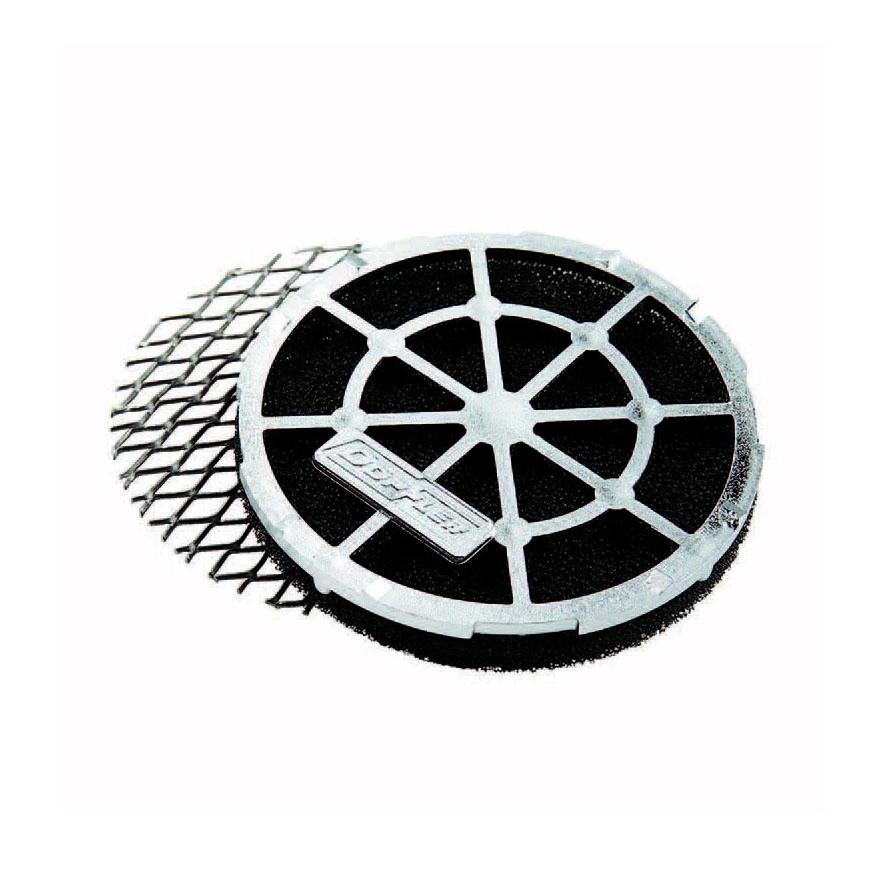 Mousse pour filtre à air Doppler Air System noir avec grille