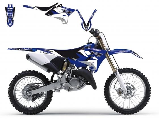Kit déco + Housse de selle Blackbird Dream Graphic 3 Yamaha 125 YZ 15-