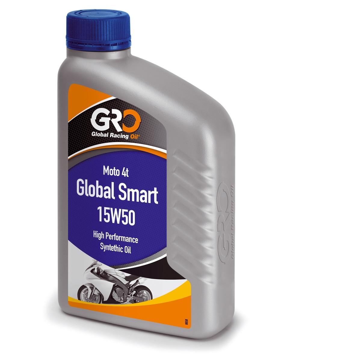 Huile GRO 4t smart 15w50 1L