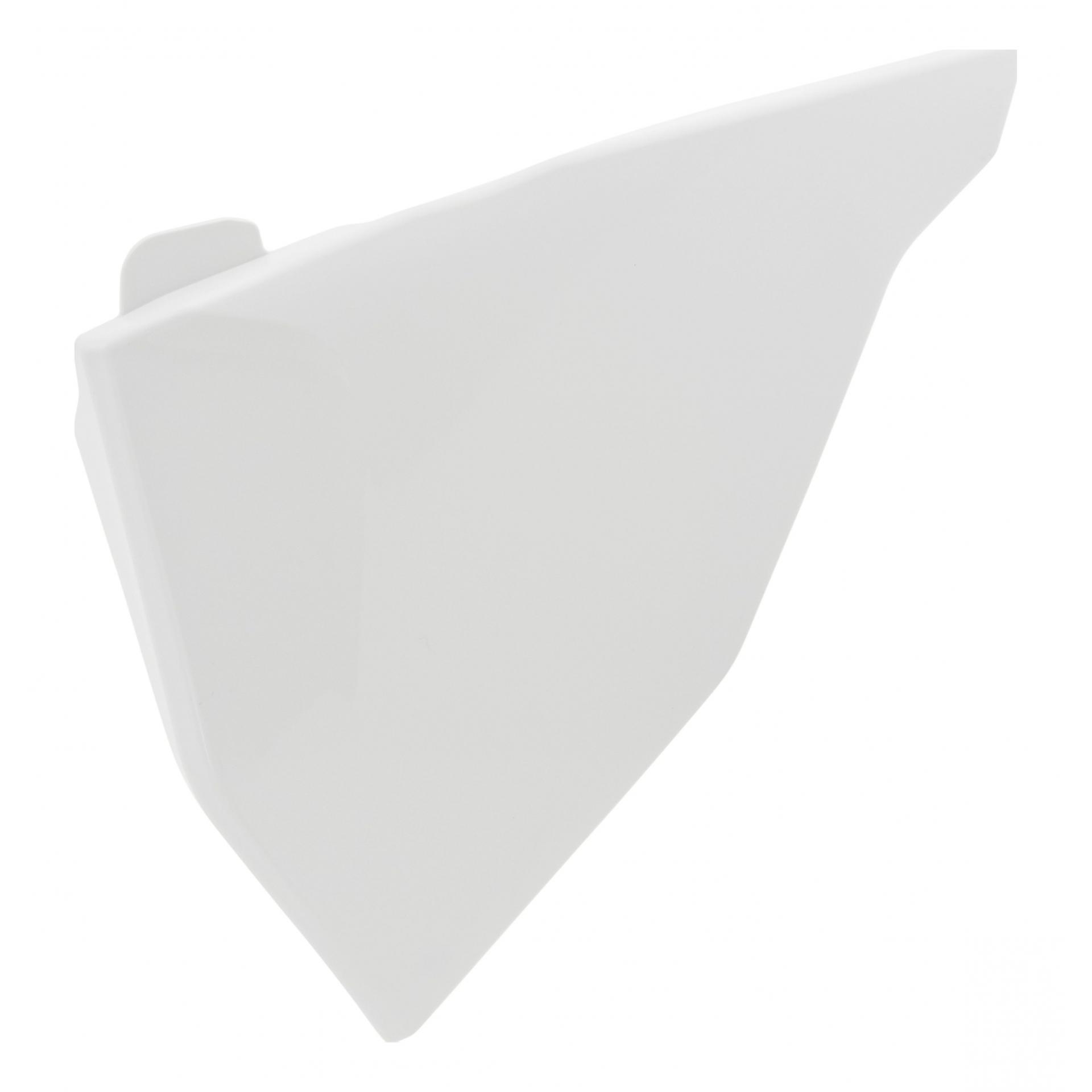 Cache de boîte à air Acerbis KTM 125 SX 2019 blanc