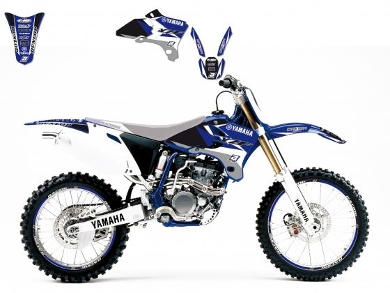 Kit déco Blackbird Dream Graphic 3 Yamaha 250 YZ-F 03-05 bleu